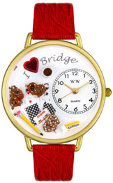 Christmas Gingerbread Watch / Gold