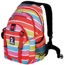 Serious Backpack Bright Stripes Wildkin