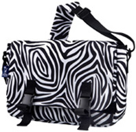 Jumpstart Messenger Bag Zebra WILDKIN