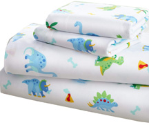 Bed in a Bag 7 pc. FULL DINOSAUR LAND
