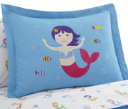 Bed in a Bag 7 pc. FULL MERMAID