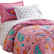 Bed in a Bag 7 pc. FULL PAISLEY