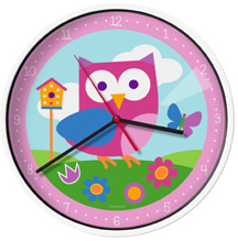 Olive Kids Wall Clock Birdie Wildkin