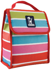 Bright Stripes Munch 'n Lunch Bag Wildkin