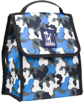 Camo Blue Munch 'n Lunch Bag Wildkin