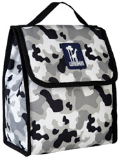 Camo Gray Munch 'n Lunch Bag Wildkin