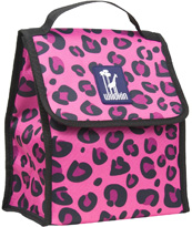 Pink Leopard Munch 'n Lunch Bag Wildkin