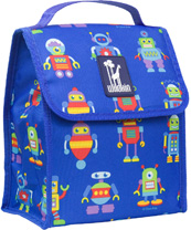 Robots Munch 'n Lunch Bag Wildkin