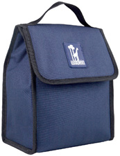 Whale Blue Munch 'n Lunch Bag Wildkin