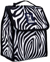 Zebra Munch 'n Lunch Bag Wildkin