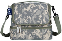 Double Decker Lunch Bag Camo Digital