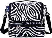 Double Decker Lunch Bag Zebra Wildkin
