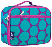 Lunch Box Big Dots Aqua Wildkin