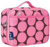 Lunch Box Big Dots Pink Wildkin