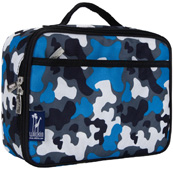 Lunch Box Camo Blue Wildkin