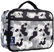 Lunch Box Gray Camo Wildkin
