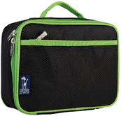 Lunch Box Rip-Stop Black & Green Wildkin
