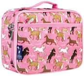 Horses in Pink Lunch Box Wildkin