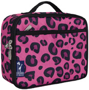 Lunch Box Pink Leopard Wildkin