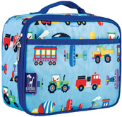 Lunch Box Trains, Planes & Trucks Wildkin