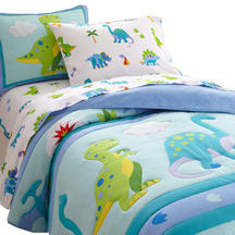 Light Weight Comforter Full DINOSAUR LAND