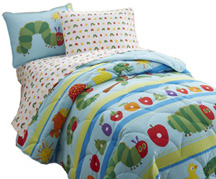 Light Weight Comforter Full VERY HUNGRY CATERPILLAR