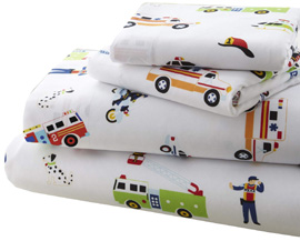 Microiber Sheet Set Full HEROES