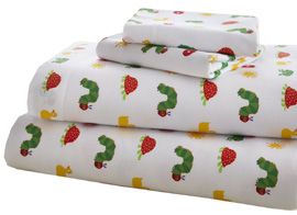 Cotton Full Sheet Set VERY HUNGRY CATERPILLAR