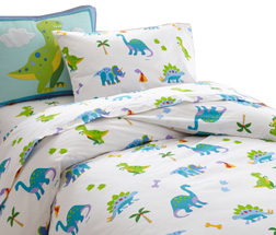 Cotton Duvet Twin DINOSAUR LAND