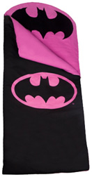 Original Sleeping Bag Batman Black & Pink