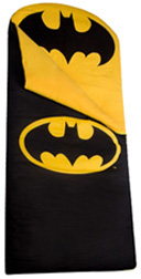 Original Sleeping Bag Batman Black & Yellow