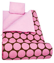 Original Sleeping Bag Big Dot Pink Wildkin