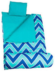 Original Sleeping Bag Chevron Seabreeze