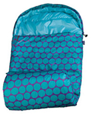 Stay Warm Sleeping Bag Big Dot Aqua Wildkin