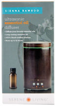 Essential Oil Diffuser Serene Living Sienna Bamboo