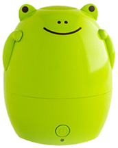 Kids Aroma Diffuser & Humidifier Jax the Green Frog Green Air, Inc.