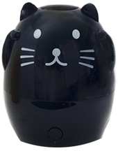 Kids Aroma Diffuser & Humidifier Mimi the Black Cat Green Air, Inc.