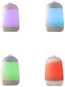 SpaVapor Rotating Color LED Lights (Purple, Red, Blue, Green)