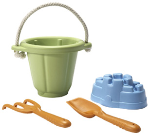 Sand Play Set Green Green Toys
