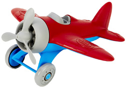 Airplane Red Green Toys