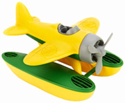 Seaplane Yellow Green Toys