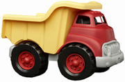 Dump Truck Red Yellow Green Toys