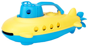 Submarine Blue Cabin  Green Toys