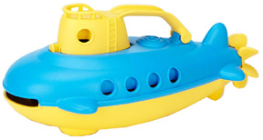 Submarine Yellow Cabin  Green Toys