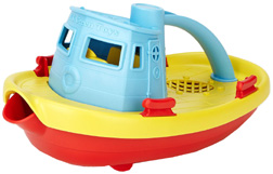 Tugboat Blue Top  Green Toys