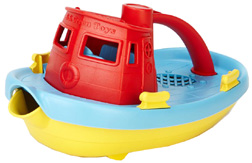 Tugboat Red Top  Green Toys