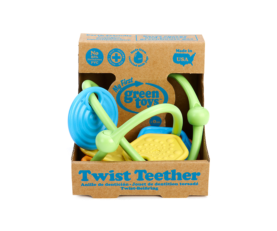 Twist Teether Green Toys