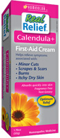 Real Relief Calendula First-Aid Cream, 1.76 oz. HOMEOLAB USA