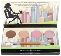 Mineral Eye Shadow Kit Cosmopolitan Honeybee Gardens