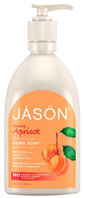 Glowing Hand Soap Apricot 16 oz. Jason Natural Cosmetics